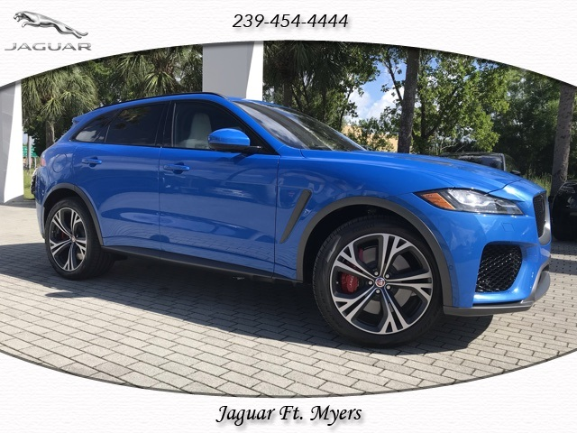 New 2020 Jaguar F Pace Svr Awd