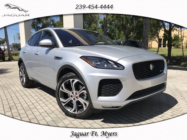 New 2019 Jaguar E-PACE R-Dynamic With Navigation & AWD