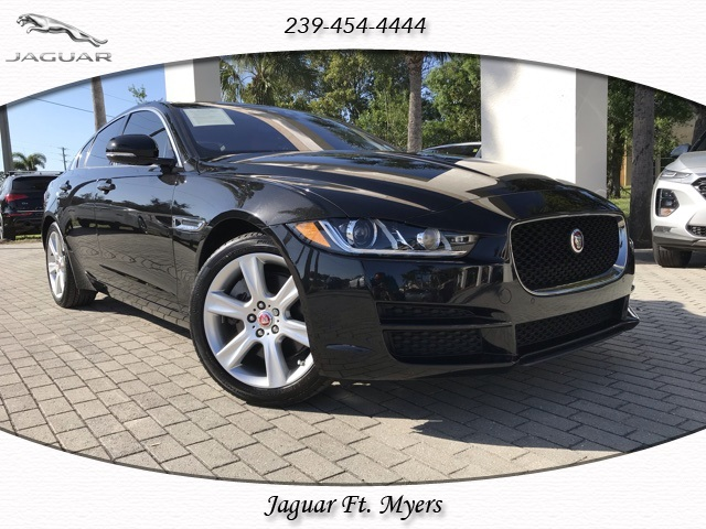 certified pre-owned 2017 jaguar xe 25t premium 4d sedan in fort