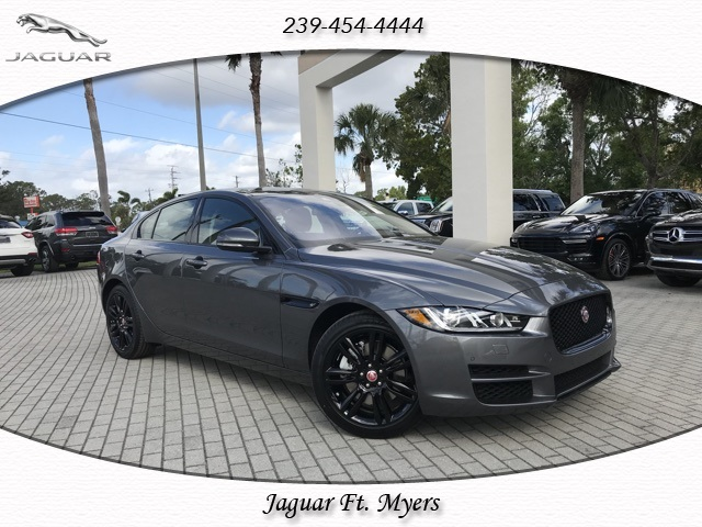 new 2018 jaguar xe 25t prestige 4d sedan in fort myers #jcp37706