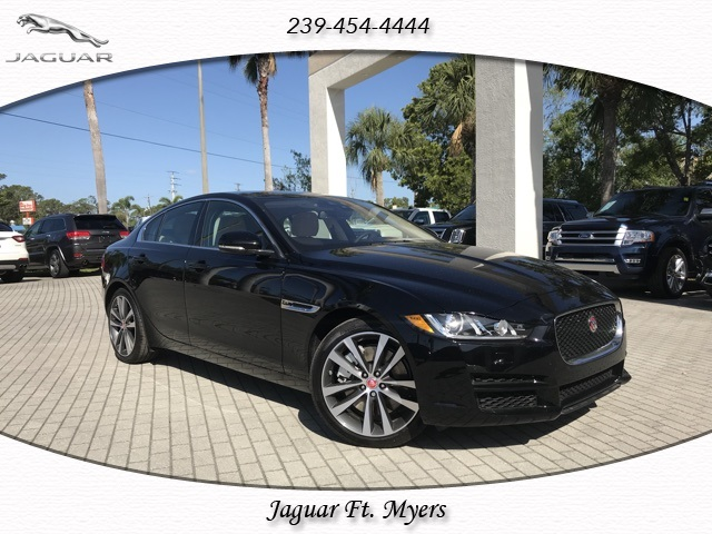 new 2018 jaguar xe 30t prestige 4d sedan in fort myers #jcp37700