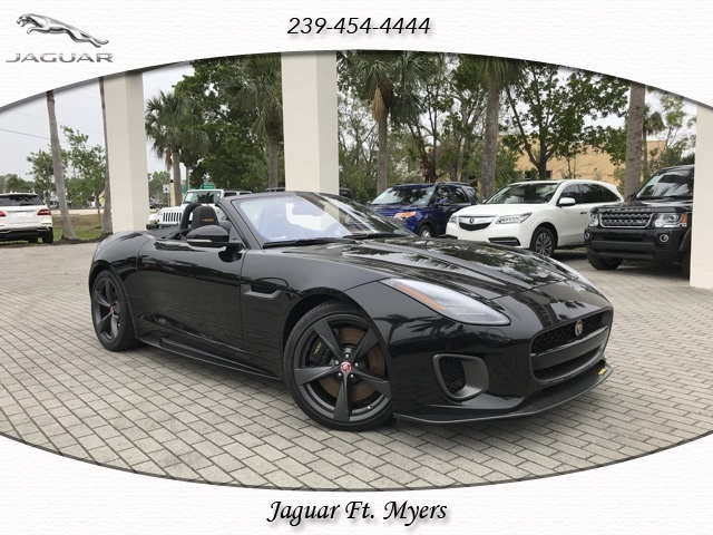 New 2018 Jaguar F-TYPE 400 Sport With Navigation