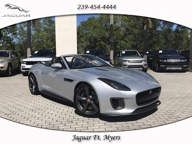 New 2018 Jaguar F TYPE 400 Sport 2D Convertible in Fort Myers