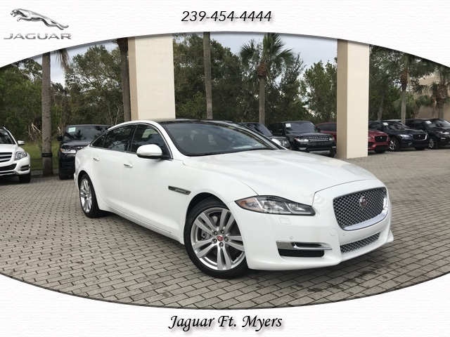 New 2017 Jaguar XJ XJL Portfolio RWD 4D Sedan