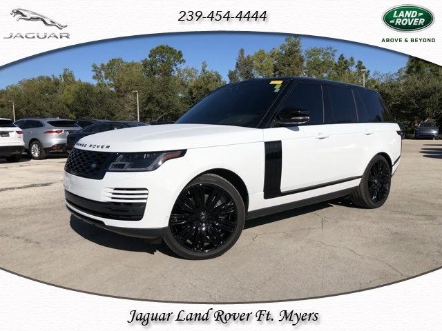 Certified Pre-Owned 2018 Land Rover Range Rover 3.0L V6 Supercharged HSE