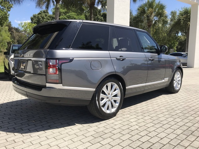 Certified Pre-Owned 2016 Land Rover Range Rover 3.0L V6 Supercharged HSE