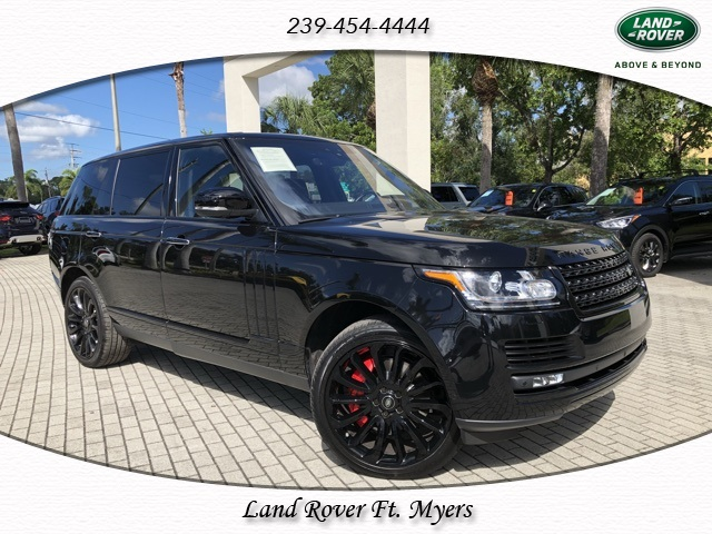 Certified Pre-Owned 2017 Land Rover Range Rover 5.0L V8 Supercharged Autobiography LWB