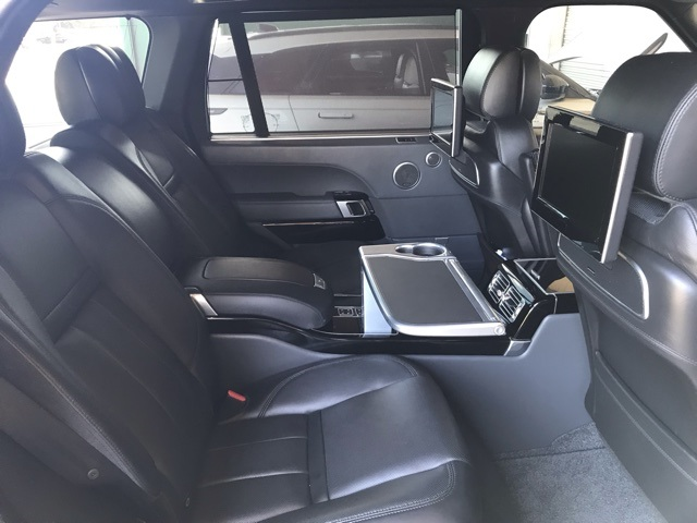 Pre-Owned 2015 Land Rover Range Rover 5.0L V8 Supercharged Autobiography Black LWB