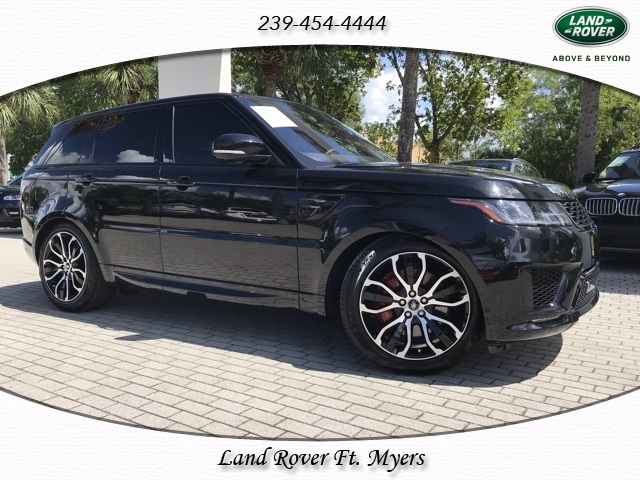 Certified Pre-Owned 2019 Land Rover Range Rover Sport Supercharged