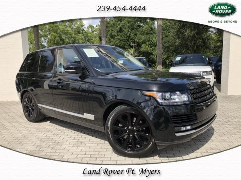 Certified Pre-Owned 2015 Land Rover Range Rover 3.0L V6 Supercharged HSE