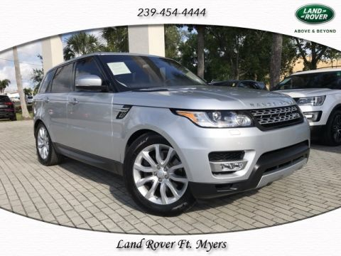Certified Pre-Owned 2016 Land Rover Range Rover Sport HSE