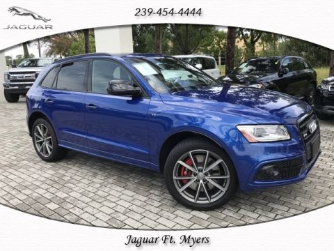 Pre-Owned 2017 Audi SQ5 3.0T Premium Plus quattro